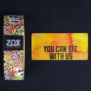 Zox - You Can Sit With Us - Wristband Strap